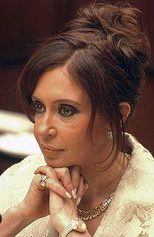 Name Cristina Kirchner Country Argentina