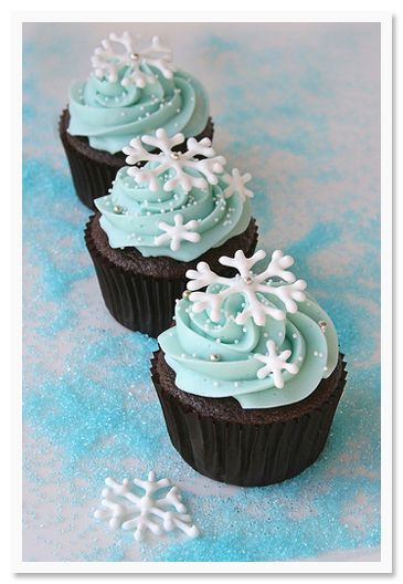 Winter weddingsWinter Parties, White Chocolates, Winter Cupcakes, Winter Wonderland, Holiday Cupcakes, Snowflakes Cupcakes, Chocolates Cupcakes, Christmas Cupcakes, Cupcakes Rosa-Choqu