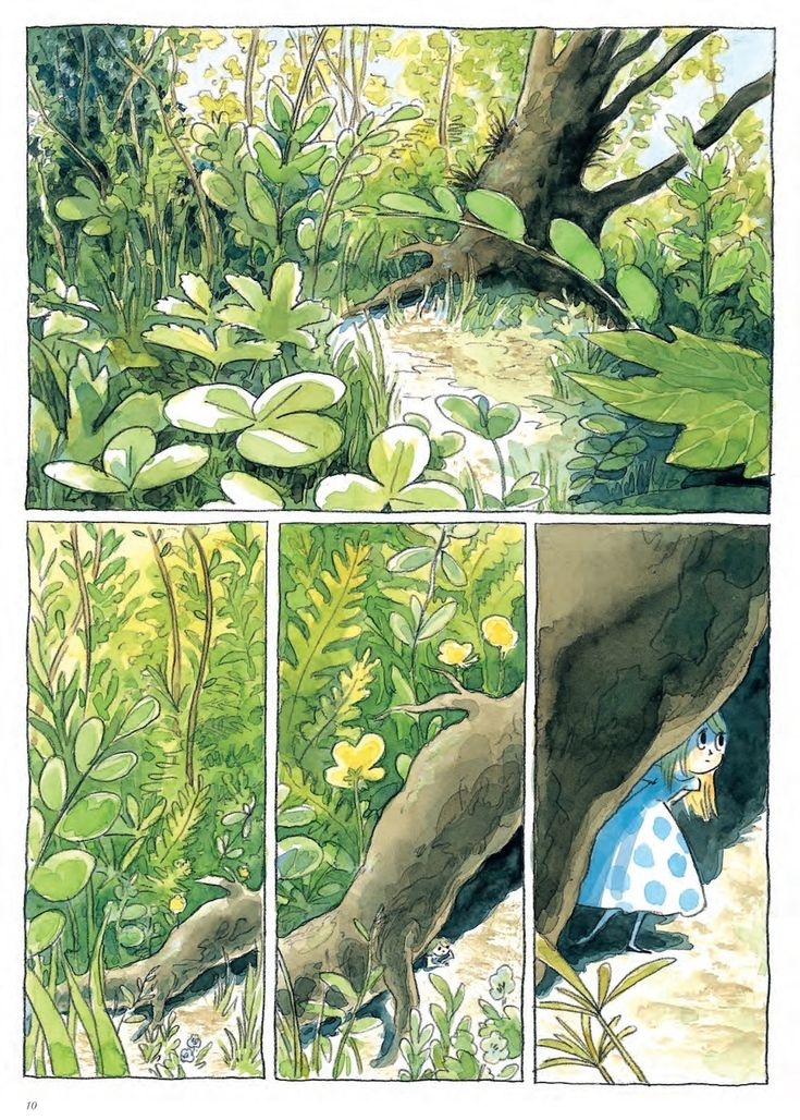 """""""Beautiful Darkness"""" by Marie Pommepuy, Sébastien Cosset and Fabien Vehlmann. Drawn by Kerascoët. Published by Drawn & Quarterly."""