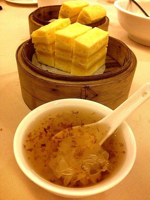 It sounds delicious! - 200件のもぐもぐ - thousand layer cake & chilled aloe  vera longan dessert by Yvonne C.