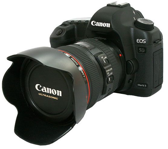 Canon Professional Cameras | Canon EOS 5D Mark II | Professional Digital SLR Camera | ZapperX