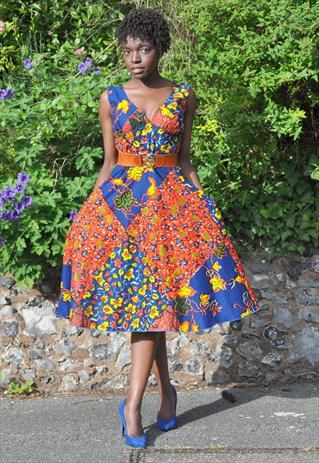 78 Best images about African Print Dresses on Pinterest - African ...