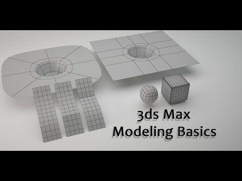 3ds Max Modeling Basics - YouTube