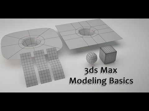 3ds Max Modeling Basics - YouTube