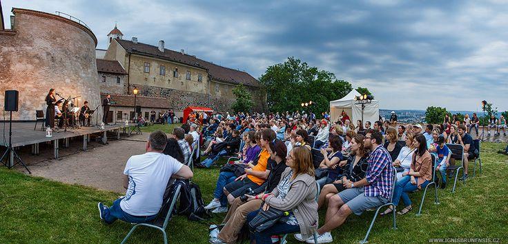 Lucemburská májová noc at Špilberk Castle in Brno (Czech Republic)
