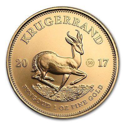 Krügerrand 2017 Sonderausgabe zum 50-jährigen Jubiläum 1 Unze Gold