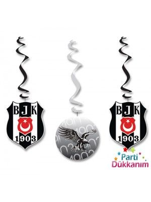 Beşiktaş Asma Süs (3 adet)