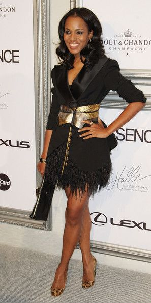 Kerry Washington... I love everything about this look, Fierce!