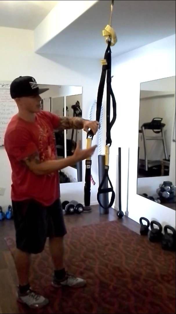 Jason explains how to set up your trx at home gym