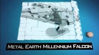 Star Wars Gadgets Metal Earth Millennium Falcon - YouTube
