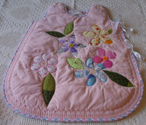 baby sleeping bag by lenaquilt on Etsy
