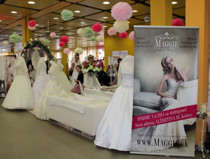 Svadobne Studio Maggie Bridal Exhibition Hotel Centrum Kosice March 2017