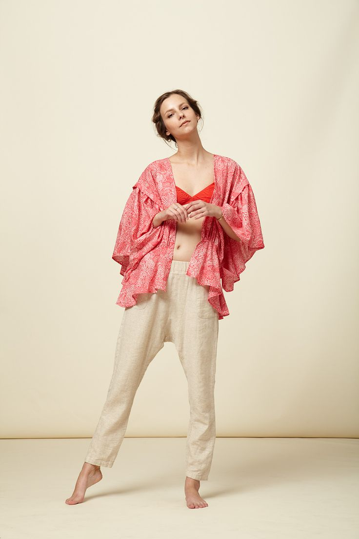 14SS - Lookbook - Atelier Delphine Adapt patterns in Simple Chic
