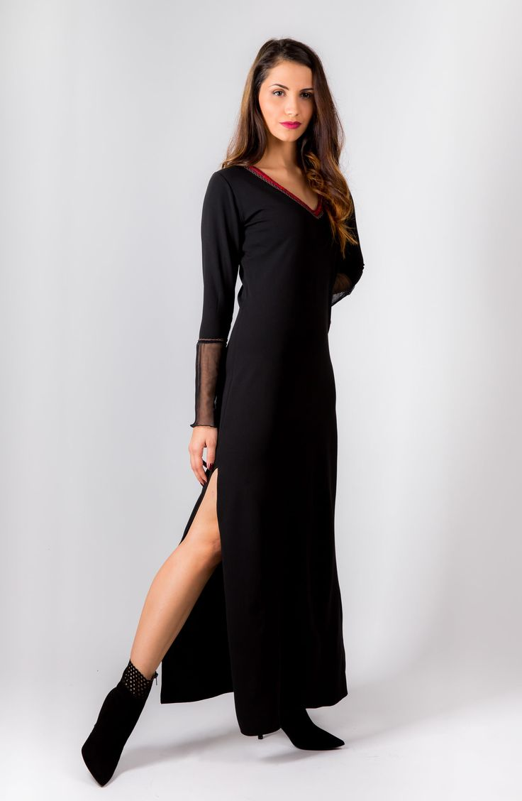 the black rose dress winter 2015 by open rose