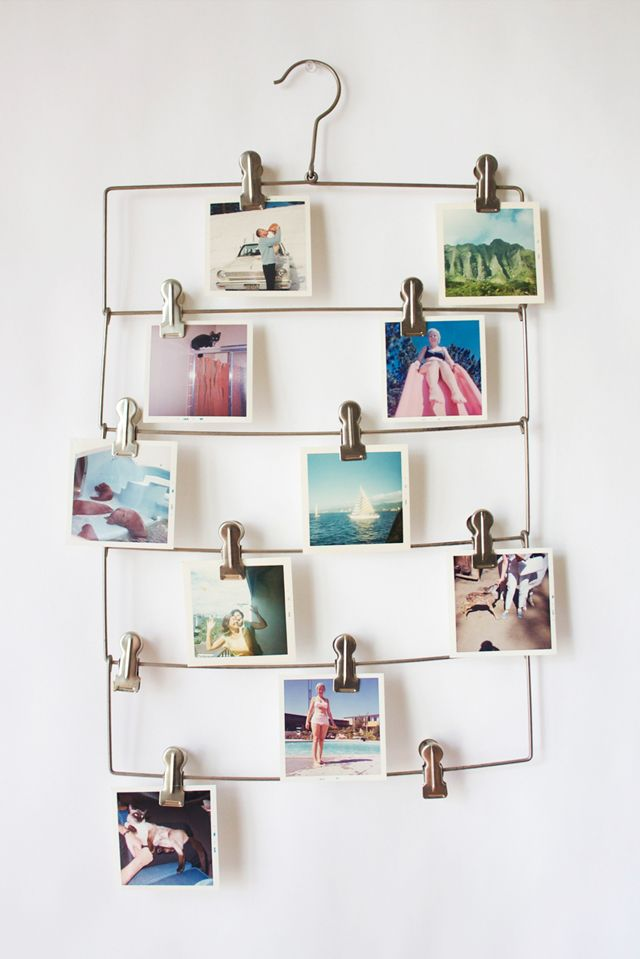 what a great idea to hang those pictures