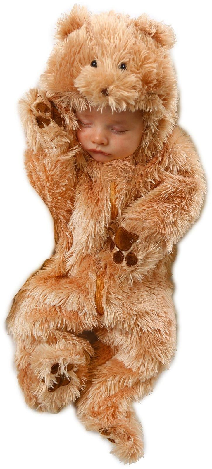 The Cutest!!! Snuggle Bear Jumpsuit Infant Costume from Buycostumes.com