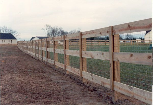 Ranch And Farm Fence Gallery | Farm and Ranch Fencing 5 | Seegars Fence Company