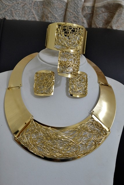 18K PLATED - BOLD AND BEAUTIFUL