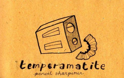 Learning Italian Language ~  Temperamatite