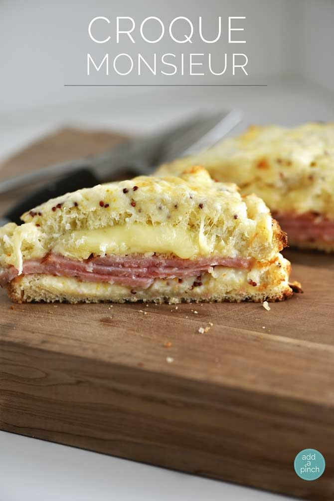 croque monsieur recipe sauces cheese and hams. Black Bedroom Furniture Sets. Home Design Ideas