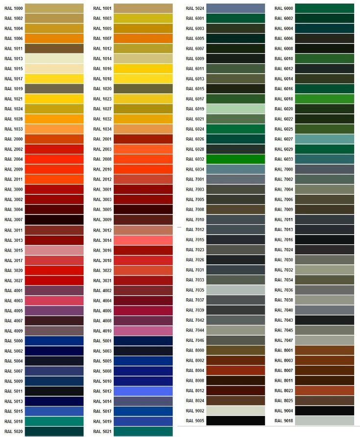 14 Best RAL Colours Images On Pinterest