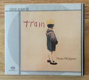 TRAIN-Drops-Of-Jupiter-2001-SONY-COLUMBIA-SACD-Stereo-DSD-SEALED-RARE