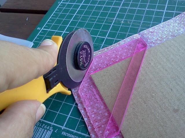 ClaraMM: Molduras de Papelão e Tecido {PAP} DIY