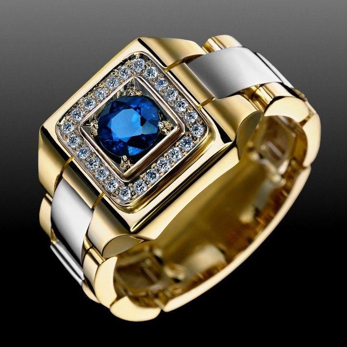 Кольца - Мужские - Золотые изделия на заказ