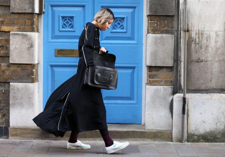 Becky Baik, Yohji Yamamoto coat