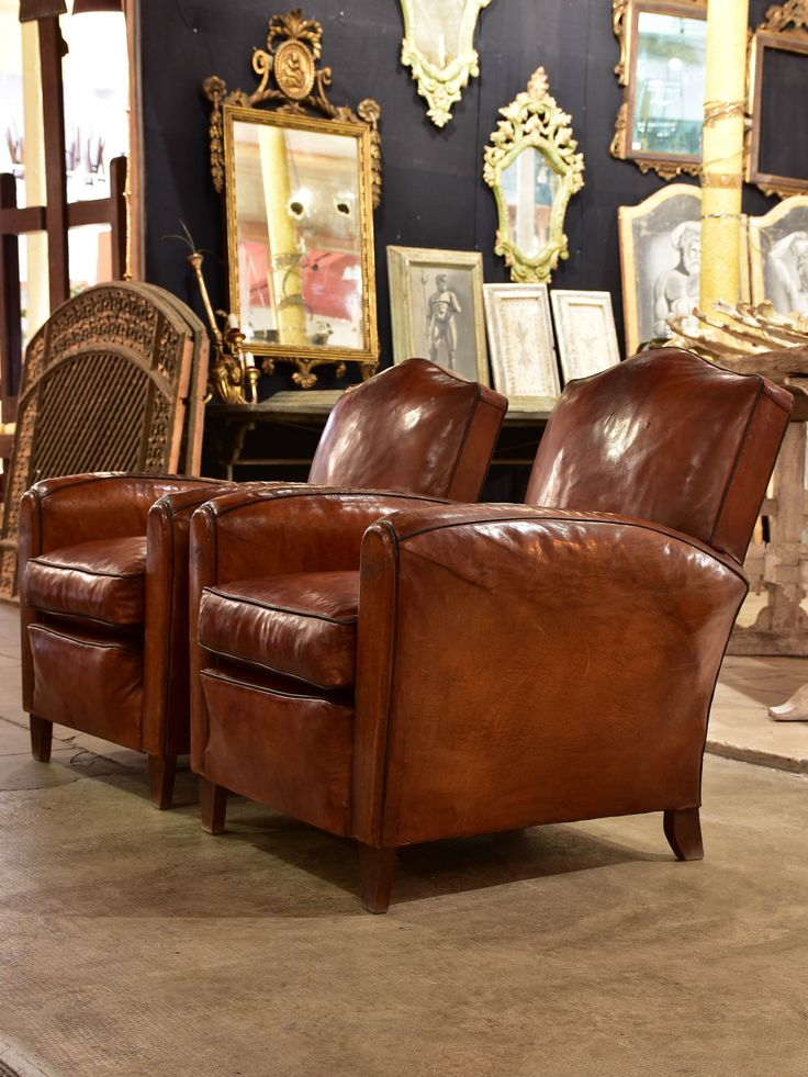 french leather vintage club chairs のおすすめ画像 256 件