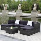 iKayaa 7PCS Patio Garden Furniture Sofa Set Ottoman Corner Couch Sectional Q8O5  Price 564.99 USD 0 Bids. End Time: 2017-04-23 16:20:05 PDT