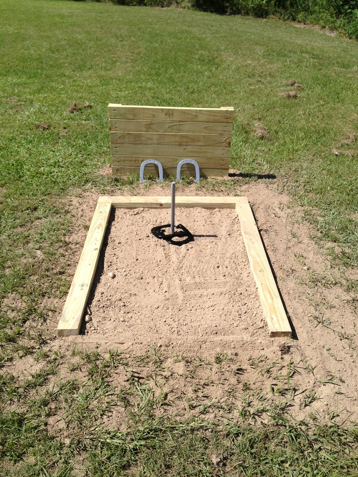 horseshoe pit house ideas pinterest backyard ideas