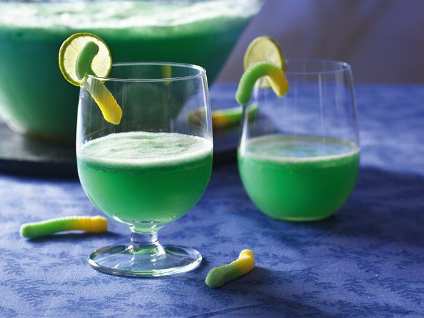 All you need to add is the wicked cackle with this super-simple spritzer with lime and ginger flavors.