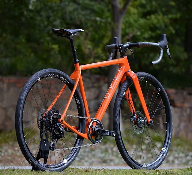 Orange You Glad You Got A Gravel Bike Openup Gravelbike