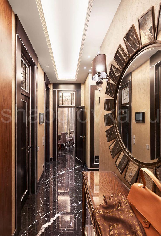 Квартира в стиле ар-деко - прихожая