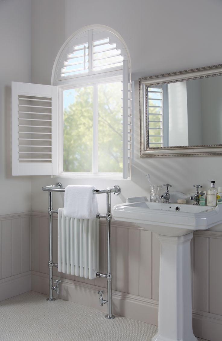 Our Shaped Window Shutters Are Made To Measure To Fit Any Archectectual  Feature.