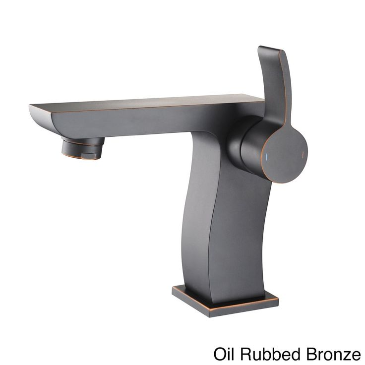Kraus Sonus Single Hole Single-Handle Bathroom Faucet in