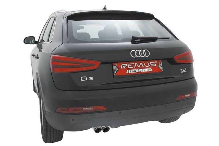 Sportowe końcówki wydechu dla Audi Q3 to niesamowity wygląd i najwyższa jakość wykonania!  Różnorodność wersji końcówek pozwala wybrać idealnie dopasowane do Twojego Audi. Carbonowe lub aluminiowe, zakończone prosto lub pod skosem - każdy wybierze coś dla siebie!  Sprawdź w Remus Polska http://www.remus-polska.pl/
