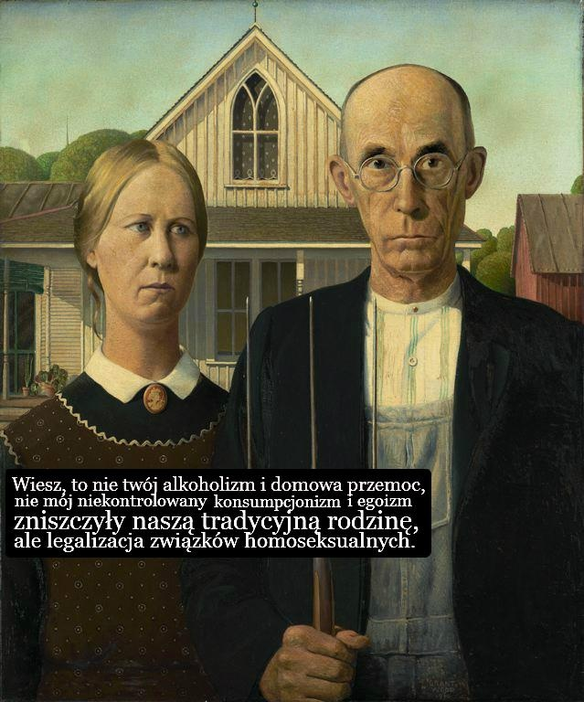 Tradycyjna rodzina by Sztuczne Fiołki.