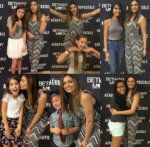 89 best bethany mota meetgreets images on pinterest bethany mota beth and some fans at the virgina meetup july 30th m4hsunfo
