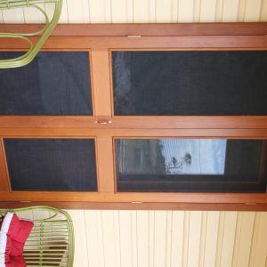 Timber Framed Fly Screen Doors