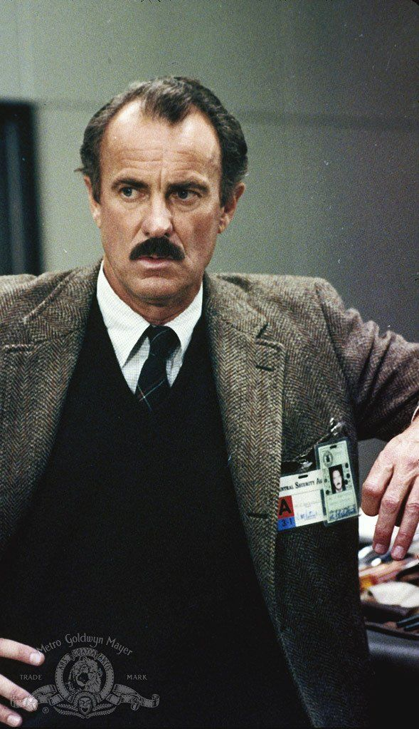 Dabney Coleman, photo shot from Wargames.  Plays Joe Fox's dad in You've Got Mail.