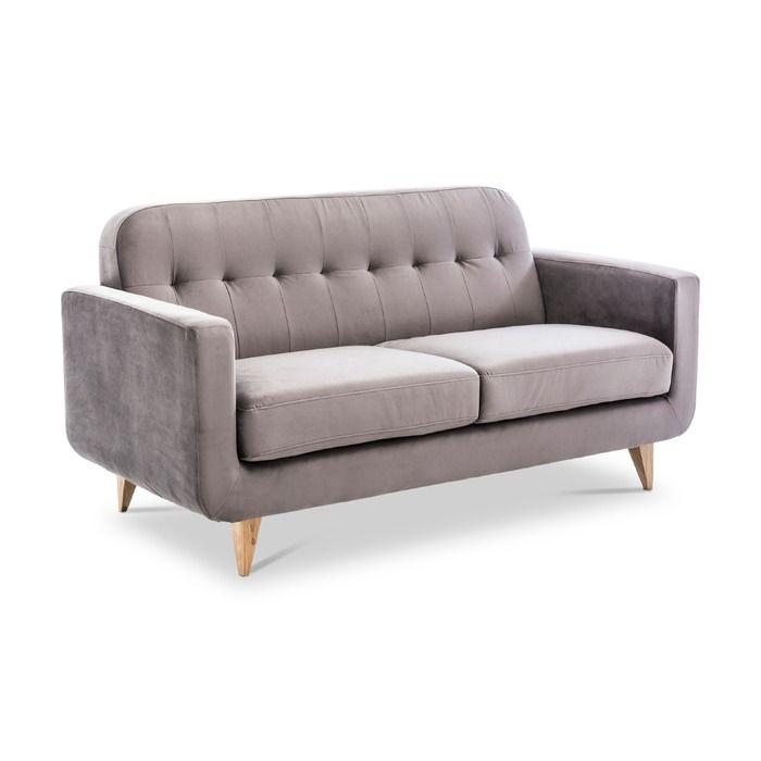 Sofa Lazy Dunkelgrau Stoff In 2020 Sofa Stoffe Gunstig Und Sofas