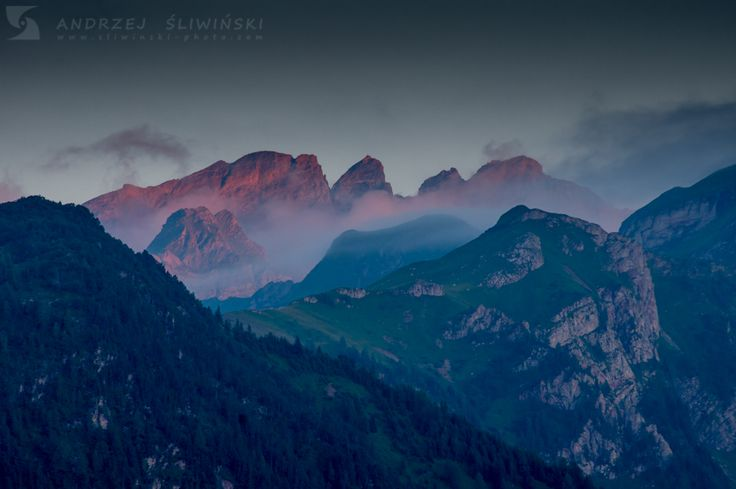 The Alps #liechtenstein #ratikon #mountainphotography #landscapephotography #sunset
