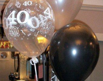 Gelukkige 40ste verjaardag partij Helium parel ballon