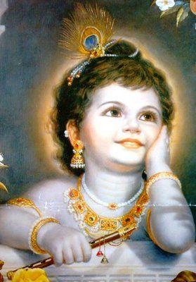 Familia Pagana: Imagenes de Krishna Bebe y niño