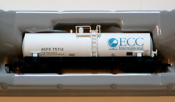 NIB HO Scale ATLAS RTR ACFX Modern Single-Dome Tank Car ECC INTERNATIONAL RR Car #Atlas