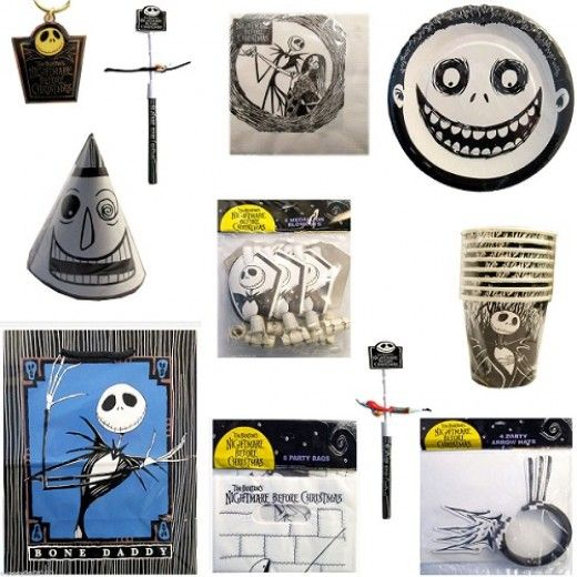 Nightmare Before Christmas Party Supplies | Christmas Decorating