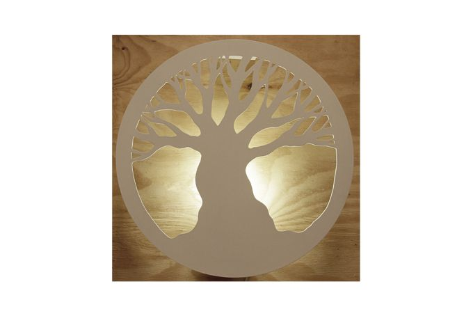 Tree of life wall light by Pure Creation