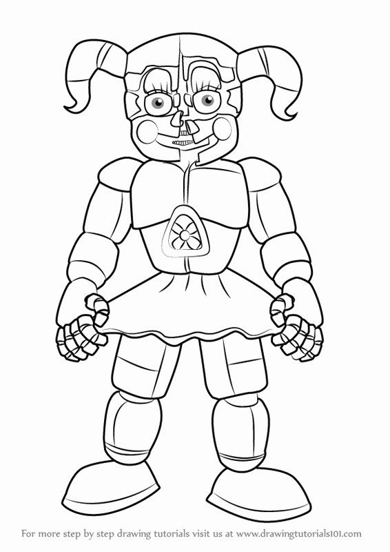 28 Five Nights At Freddy S Coloring Page With Images Fnaf